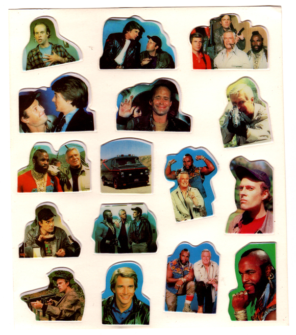 90er: Stickeralbum