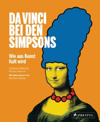 Cover Da Vinci bei den Simpsons