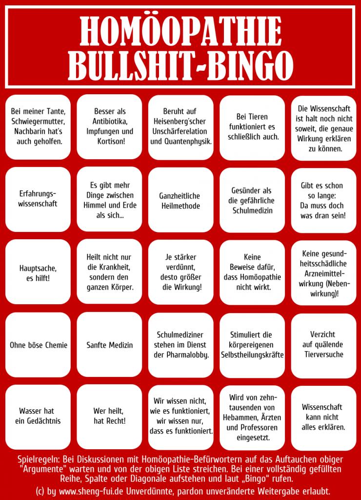 Bullshit-Bingo