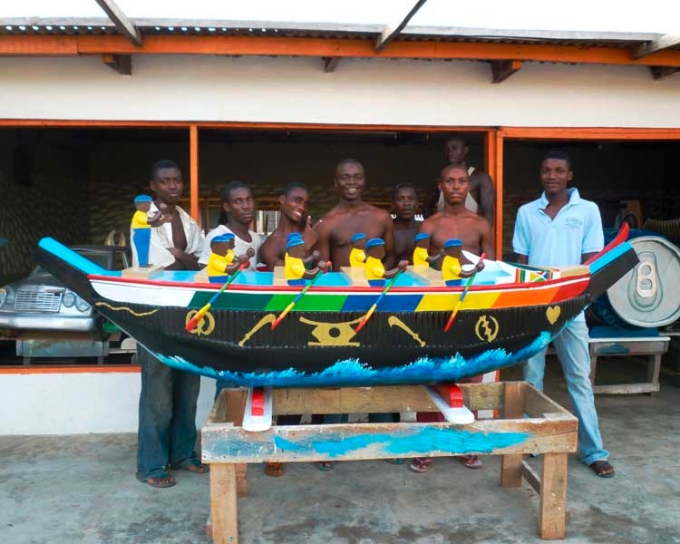 sargkunst ghana schiff