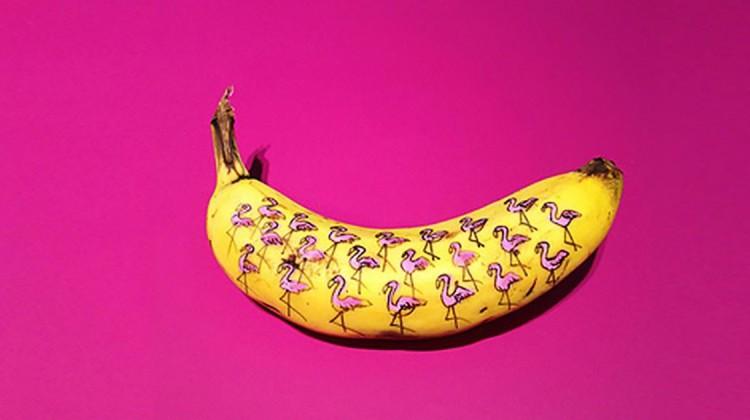 Banane Flamingo