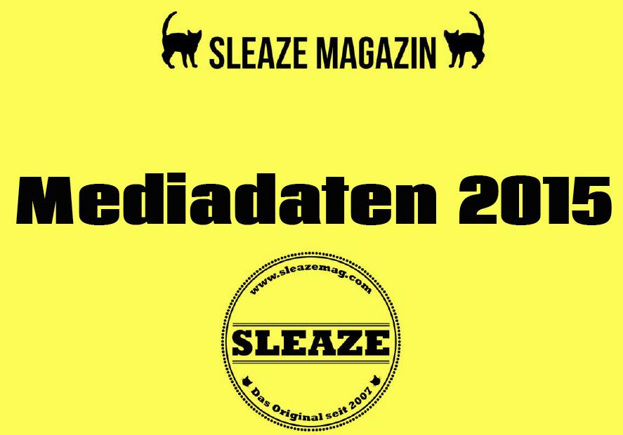 Preise Mediadaten für SLEAZE Magazin 2015