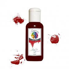 Farbstark Blutgel hell