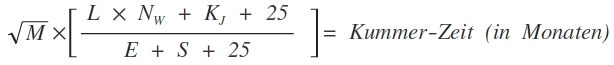 Liebeskummerformel nach Garth Sundem was tun gegen Liebeskummer Herzschmerz Ablenkung Mathe
