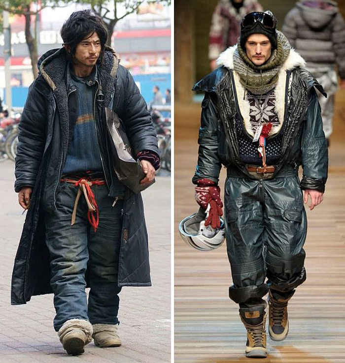 homeless model obdachloser style gothic clochard streetstyle lookalike