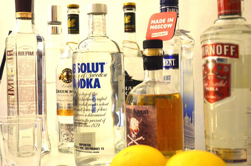 Vodka Wodka Test