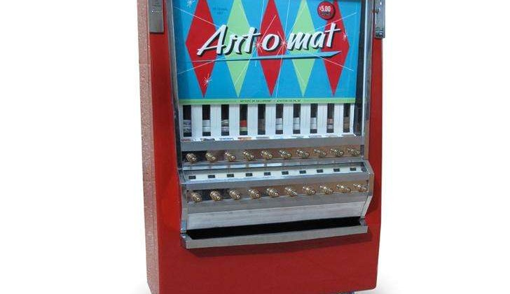 Kunst aus dem Automaten Zigarettenschachtel Automat