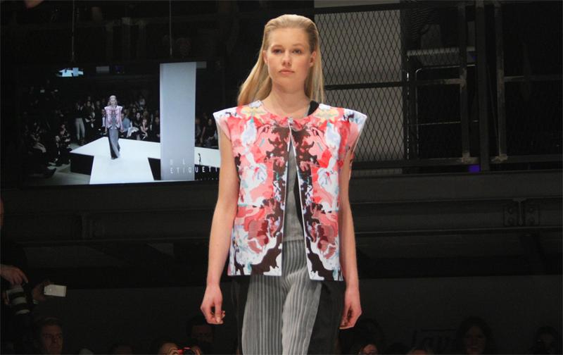 MBFW 2015 Berlin Fashion Week Lavera Showfloor Blank Etiquette Tosca Wyss Casual Sportswear
