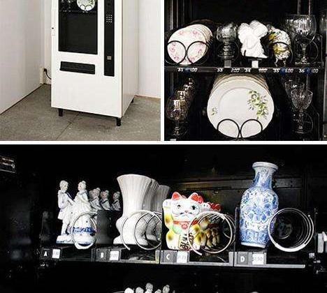 Omas Porzellan Automat