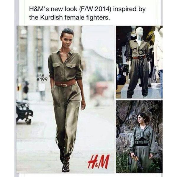 H&M Overall politisch unkorrekte Mode Sleazemag