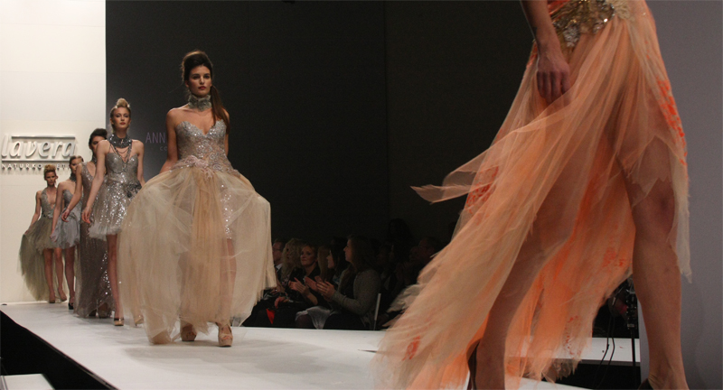 MBFW 2015 Berlin Fashion Week Lavera Showfloor Ann Wiberg Couture Models Bridal Fashion