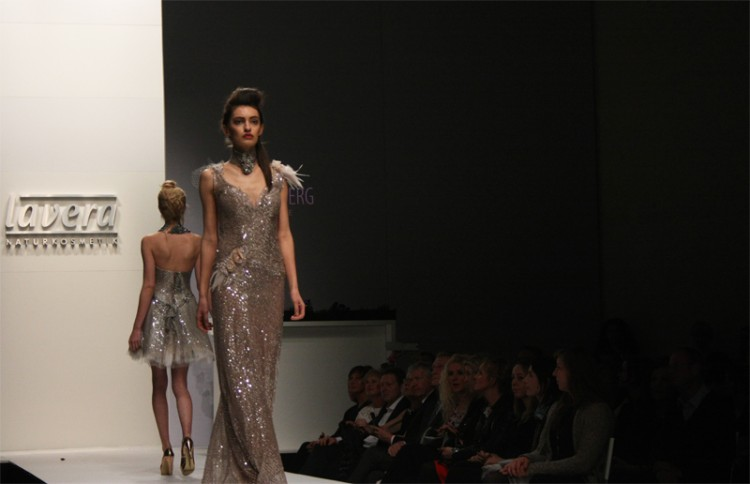 MBFW 2015 Berlin Fashion Week Lavera Showfloor Ann Wiberg Couture Models Ball gown