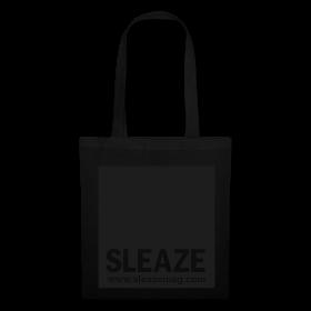 SLEAZE Tasche schwarz/schwarz Glitzer