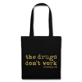 The Drugs Don't Work Tasche Gitzer silberGitzer gold