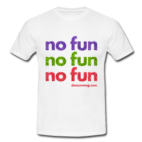 NO FUN T-Shirt weiß Merch