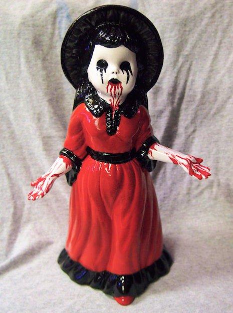 Porzellanfiguren Bluthände