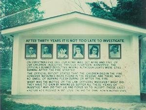 Brand im Haus der Familie Sodder fayetteville virginia ungelöste morde mysterien miysterium feuer familie tote kinder