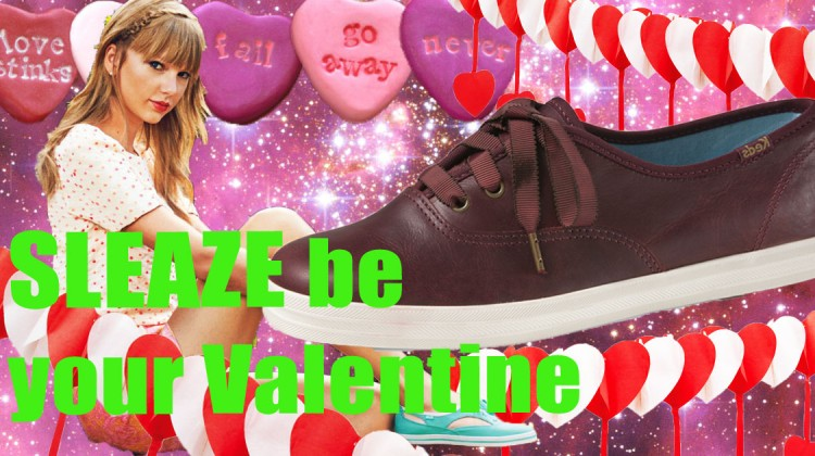 Valentinstag Verlosung Keds Taylor Swift SLEAZE