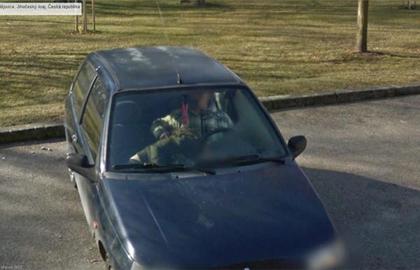 Google Street View liefert lustige Bilder: Schlüssel