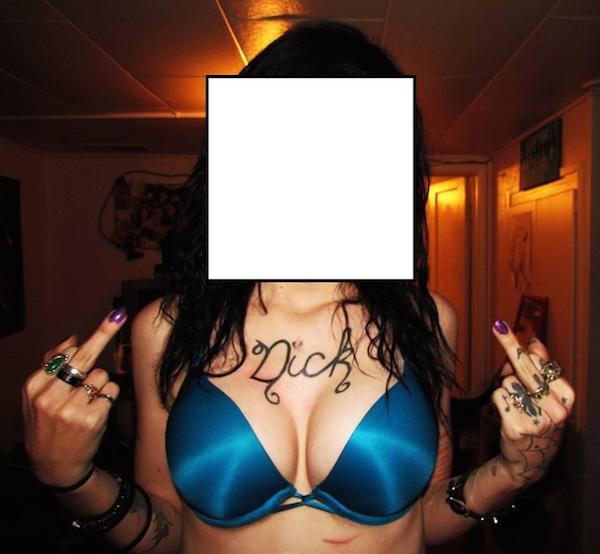 dick tattoo tattoos und brüste hässliche tattoos