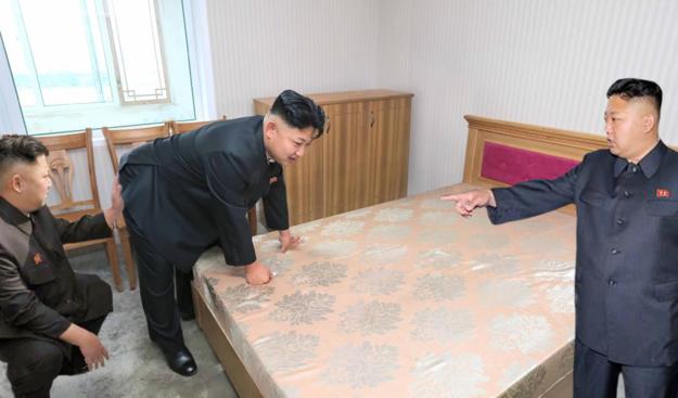 Kim Jong Un testet sich selbst