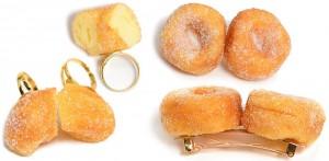 Fake Food Accessoires Donut HaarspangeHatanaka