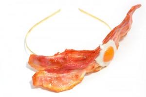 Fake Food Hatanaka Accessoires Bacon Kette