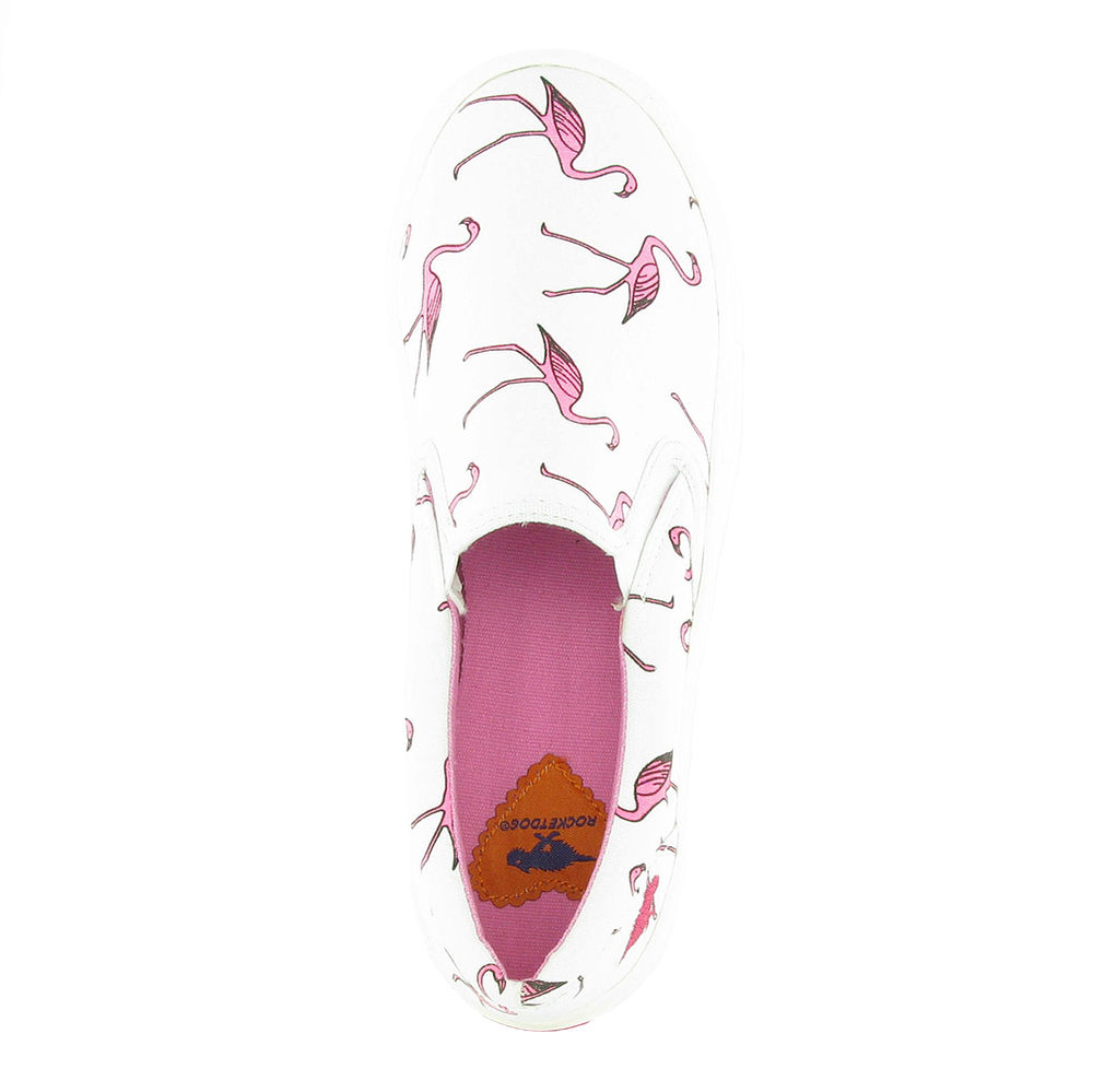 flamingo schuhe rocket dog pink