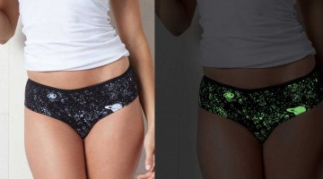Make it good Apparel glow in the dark panties