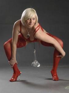 Tatyana Kozhevnikova stärkste Vagina Gewichtheben pumpen Liebeskugeln muskulatur