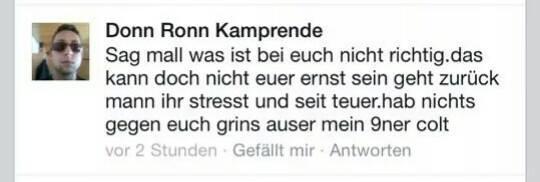 Nazis und Rechtschreibung colt