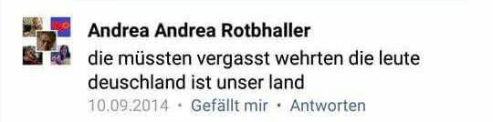 Nazis und Rechtschreibung vergasen