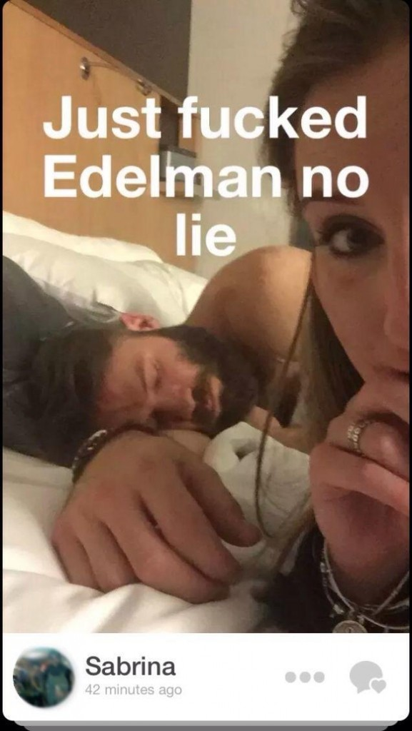 Frau postet After-Sex-Selfie mit Super-Bowl-Star Julian Edelman