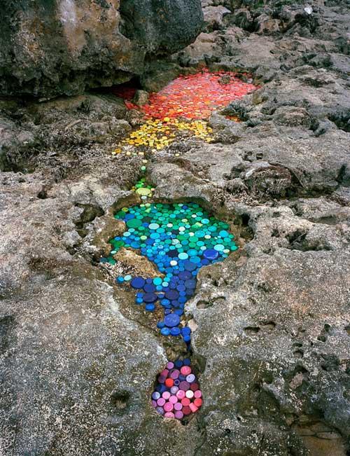 Alejandro Durán Washed Series Umweltverschmutzung Klimawandel Plastikflaschen Plastik vermeiden
