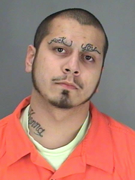 auffällige Gesichtstattoos Tattoos mit Bedeutung