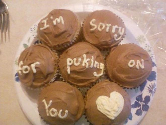 Kuchen als Entschuldigung muffin rezept