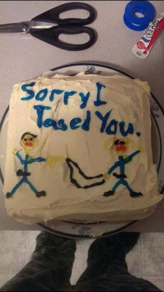 Kuchen als Entschuldigung entschuldigungstorte