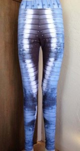 armor print-leggings