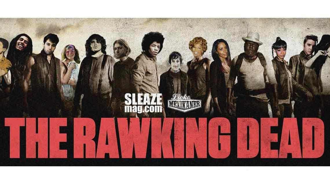 The Rawking dead