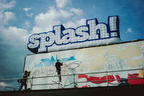 splash! 2015 festival sign graffiti foto robert winter