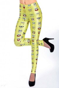 spongebob print-leggings