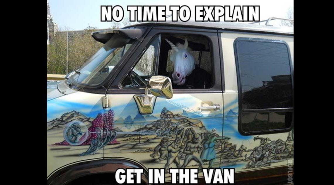 unicorn head unnuetze dinge einhorn kopf maske