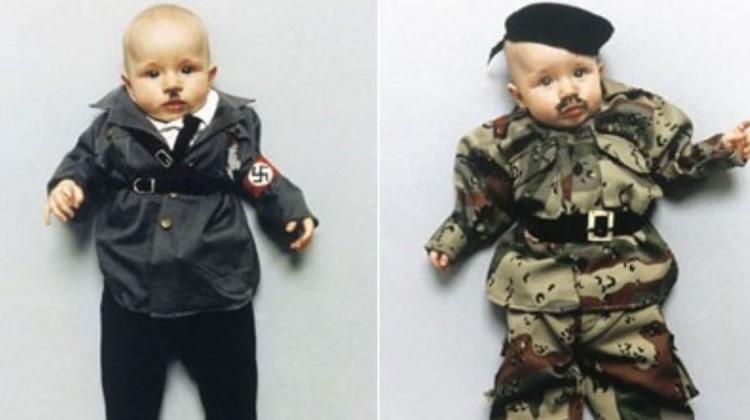 Unpassende Halloweenkostüme für Kinder