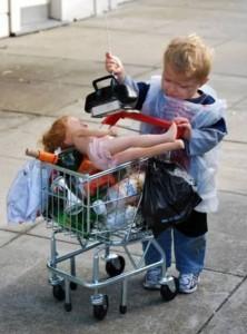 unpassende halloweenkostüme für kinder_obdachlos