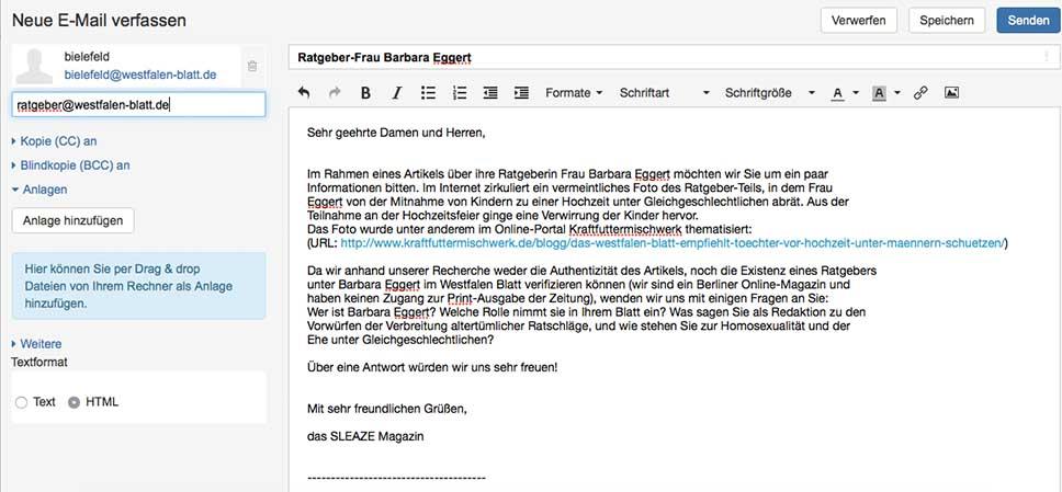 westfalen blatt email