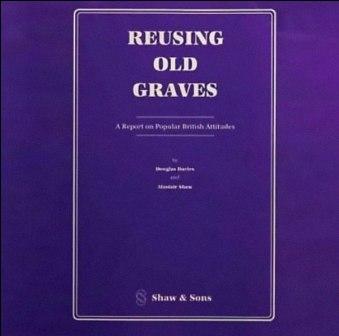 Superseltsame Buchtitel reusing old graves