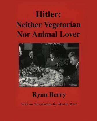 Superseltsame Buchtitel Hitler: Neither Vegetarioan nor animal lover