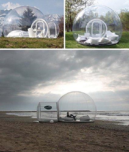 durchsichtiges Zelt