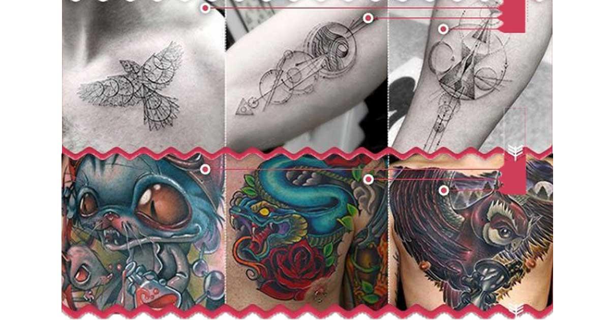 Die 10 Beliebtesten Tattoo Stilrichtungen Sleazemag