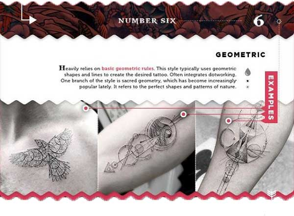 tattoo stilrichtungen filigran geometrisch grau tattoo chief
